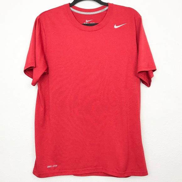 Nike Other - Nike Dri-Fit Red Athletic Shirt Men's Sz medium